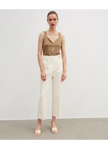 Ipekyol Kadın  Pantolon IW6200003071 Yeşil